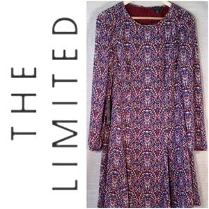 The Limited Mult-Colored Print Shift Dress